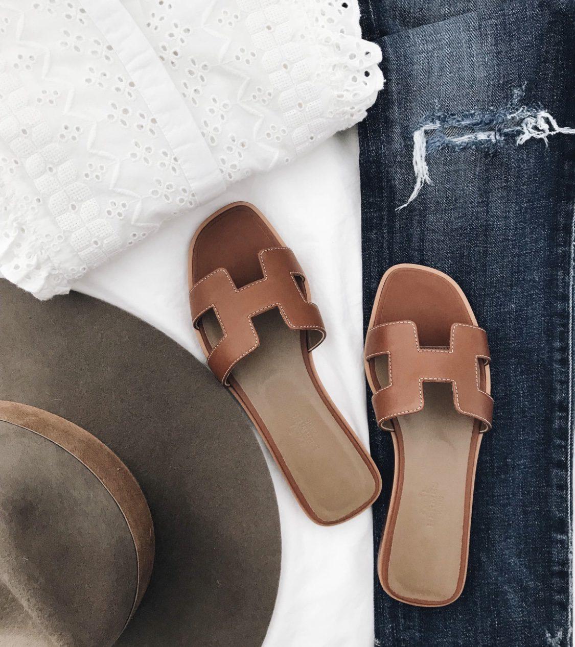 hermes oran sandal dupe