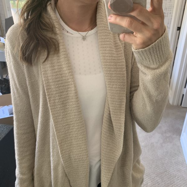Workout Wednesday: my favorite cozy layer and my weekly workout schedule