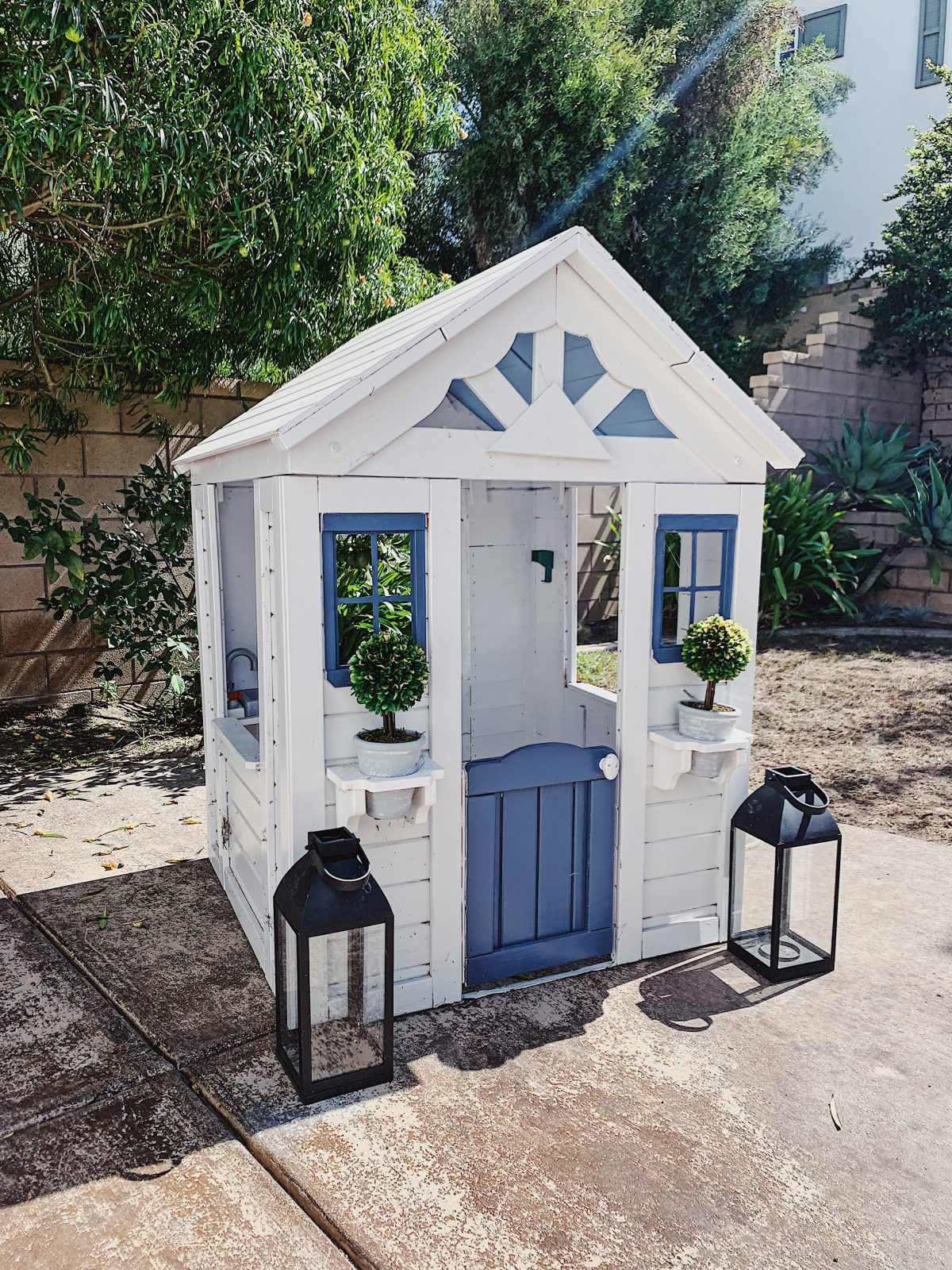 tips for building your own playhouse
