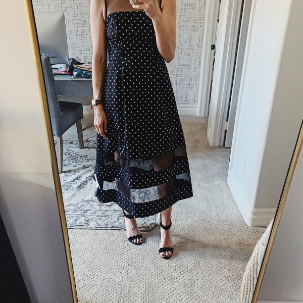 Polka Dot Midi Dress, Crystal Wine Glasses and My Kids Favorite Book: What I Bought Last Week