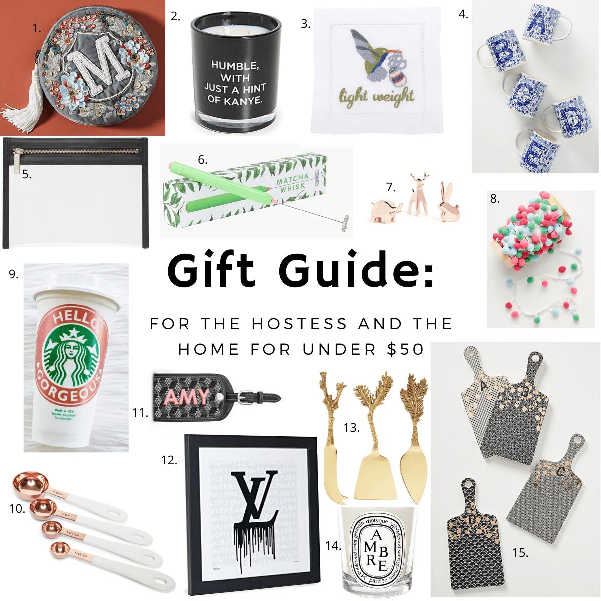 hostess home gift guide